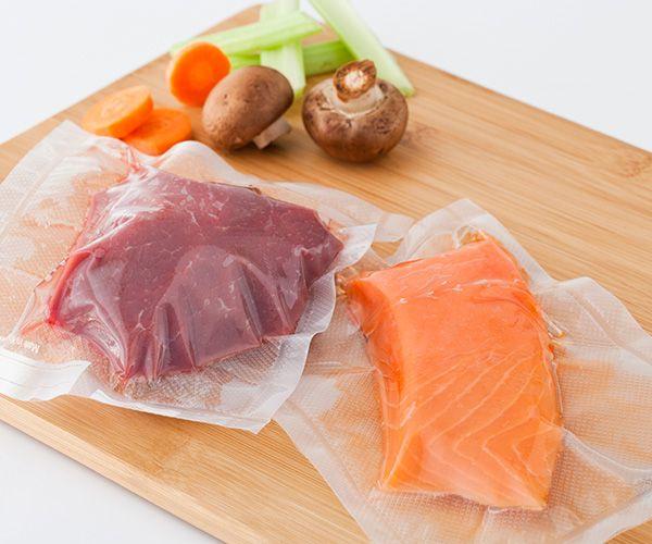 Jezme zdravější potraviny díky vakuování!