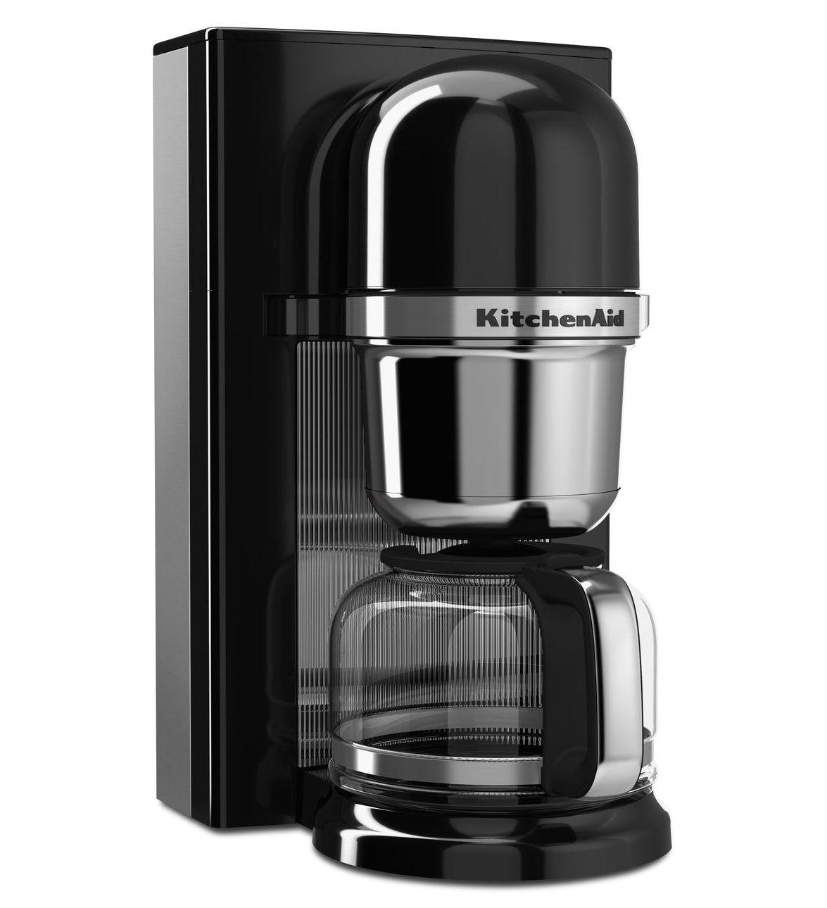 KitchenAid Kávovar na přelévanou kávu černá