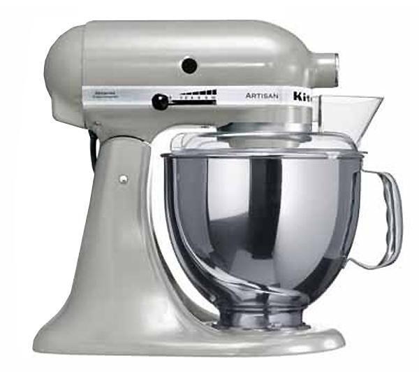 KitchenAid, Kuchyňský robot s mísou 4,8l světle šedá, Artisan