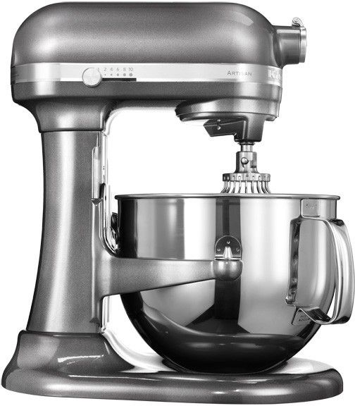 KitchenAid, Kuchyňský robot s mísou 6,9l tmavě šedá, Artisan