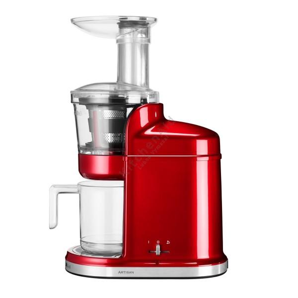 KitchenAid Nízkootáčkový odšťavňovač Artisan červená metalíza