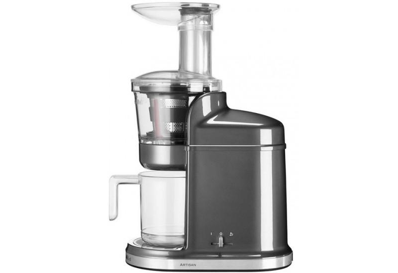 KitchenAid Nízkootáčkový odšťavňovač Artisan stříbřitě šedá