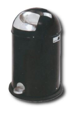 Koš odpadkový PUSH 40l černý