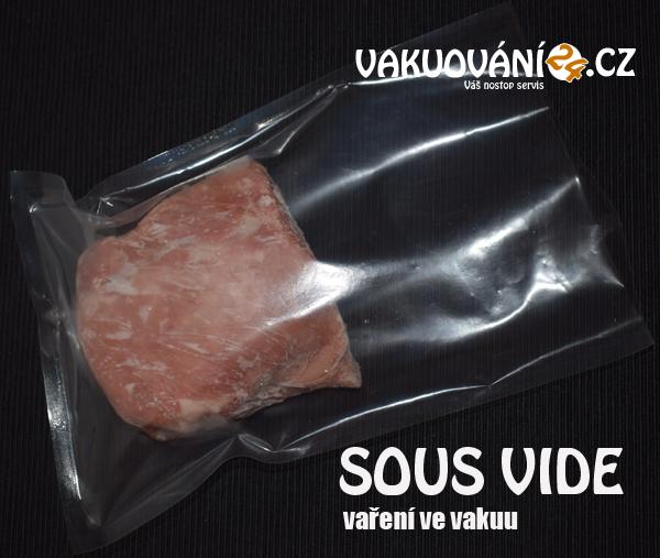 Vakuovací varné sáčky hladké pro Sous-vide 150x250mm 85micro, balení 100ks