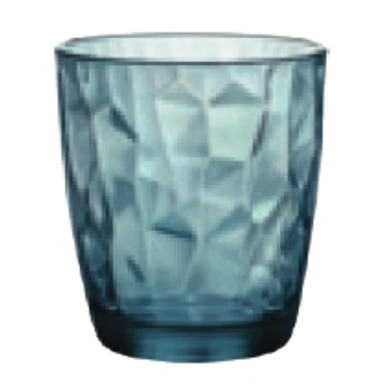 Bormioli, Sklenice Diamond 305 ml modrá