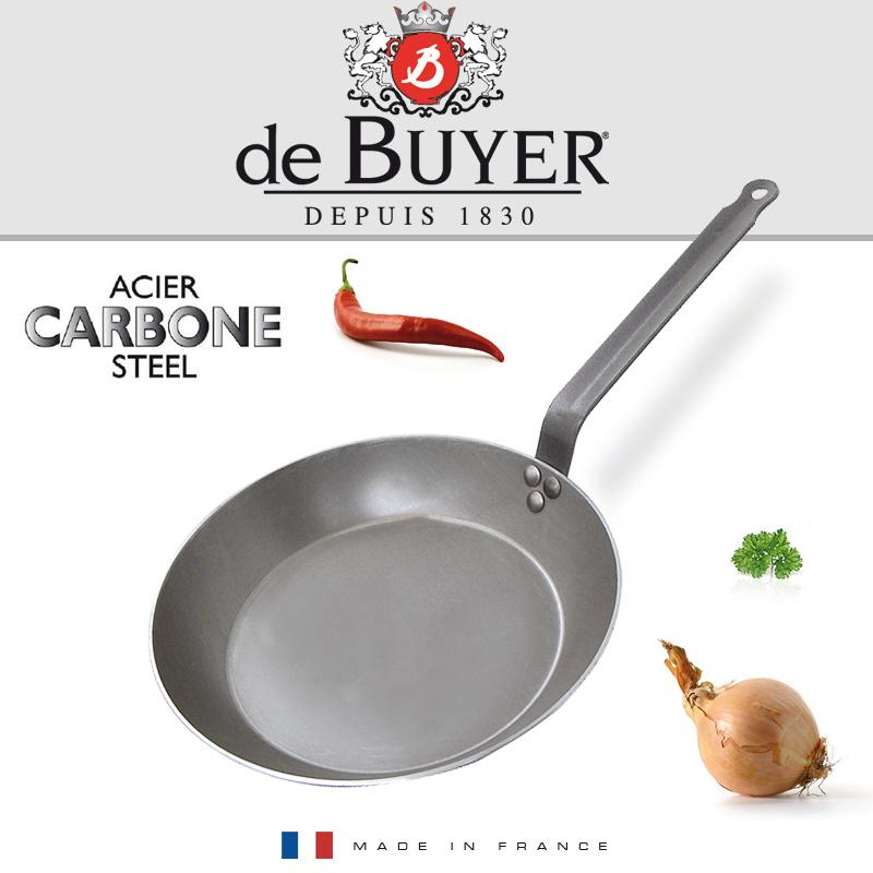De Buyer, Pánev ocelová pr. 20cm, Carbone