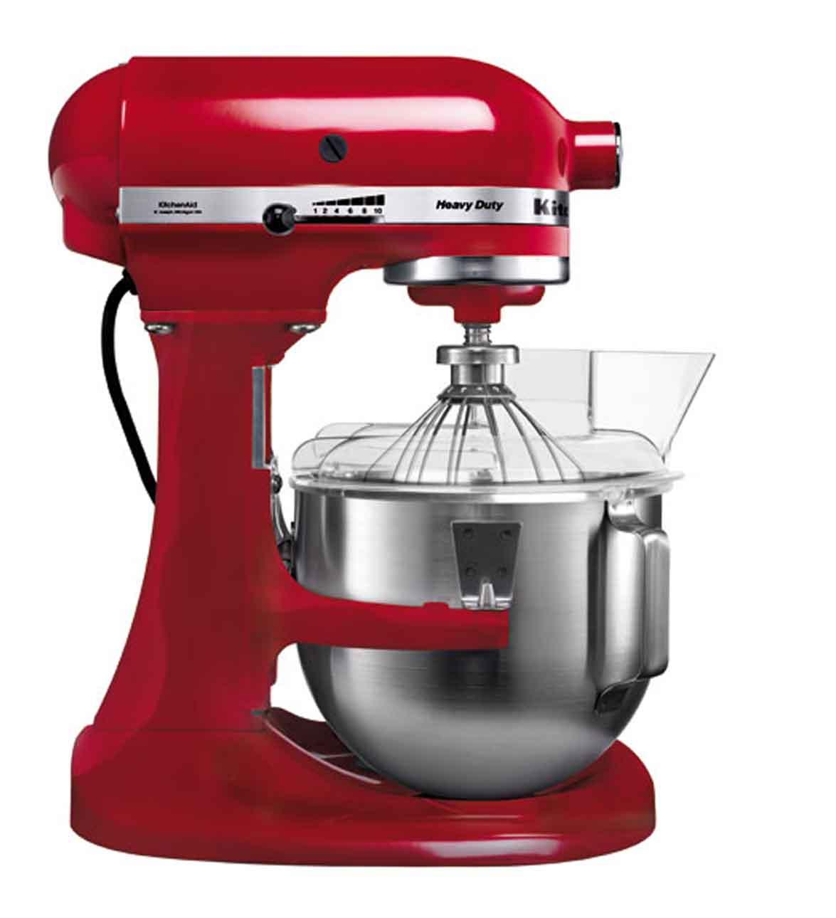 KitchenAid, Robot Heavy Duty červený
