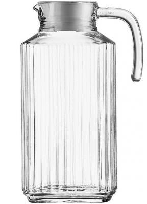 Arcoroc, Džbán skleněný s víkem Quadro, 1700ml