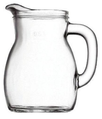 Bormioli, Džbán skleněný na vodu s cejchem 1160ml, Bistrot