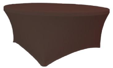 Verlo Potah na stoly Planet, čokoláda
