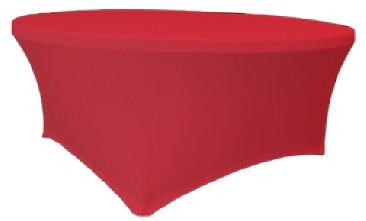 Verlo Potah na stoly Planet, červený