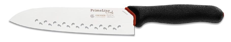 Giesser Messer, Nůž japonský santoku perforovaný 19 cm