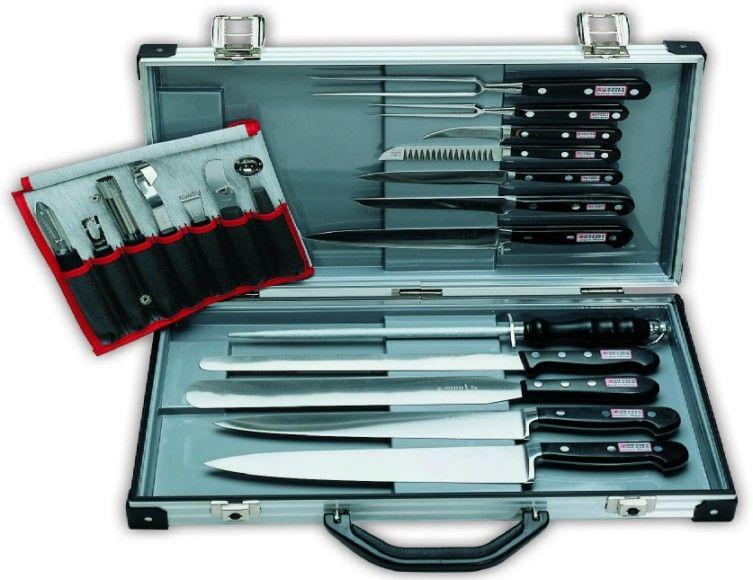 Giesser Messer, Sada nožů kovaných 19ks v kufru