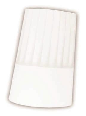 Čepice kuchařská 23 cm