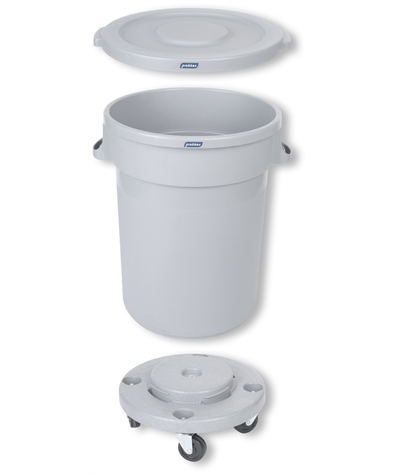 Kontejner na odpadky 120 L na kolečkách s víkem