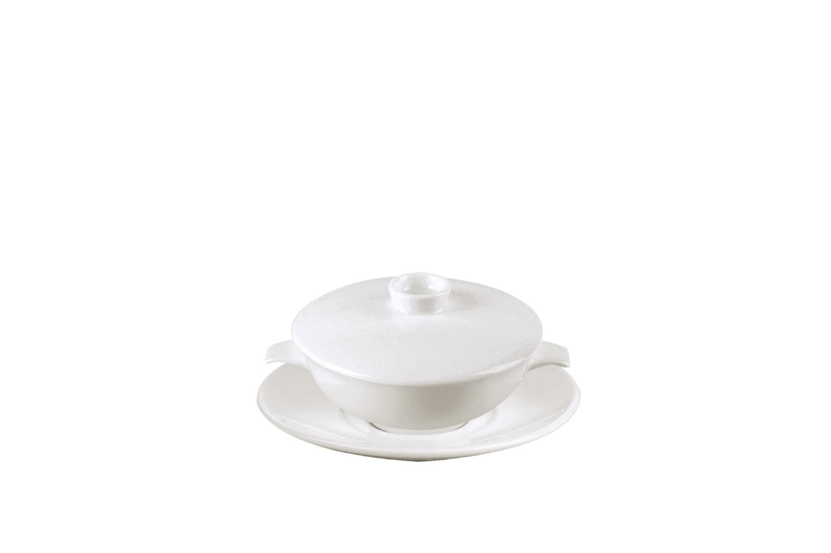 RAK, Miska na polévku s víčkem 270 ml, Nano