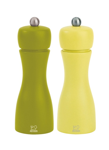 Peugeot, Mlýnek na sůl a pepř set 1+1 olivová, pistáciová, Tahiti