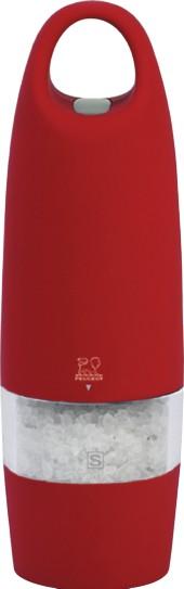 Peugeot Zest elektrický mlýnek na sůl červený