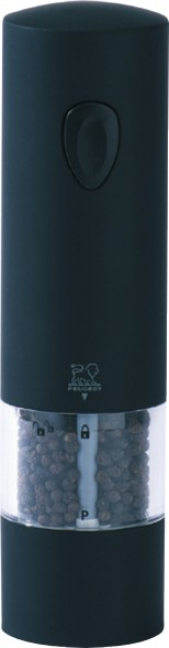 Peugeot, Mlýnek na pepř elektrický Soft Touch, Onyx