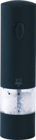 Peugeot, Mlýnek na sůl elektrický Soft Touch, Onyx