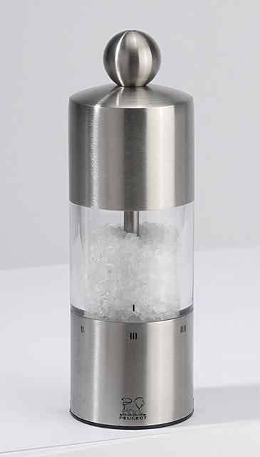 Peugeot, Mlýnek na sůl nerez akryl, Commercy
