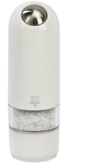 Peugeot Alaska elektrický mlýnek na sůl bílý