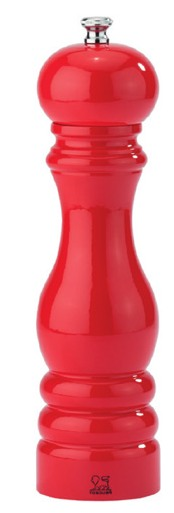 Peugeot, Mlýnek Paris na sůl, 18 cm, červený lakovaný