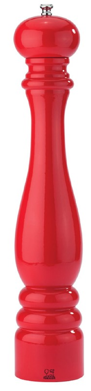 Peugeot, Mlýnek Paris na pepř, 30 cm, červený lakovaný