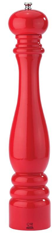 Peugeot, Mlýnek Paris na sůl, 30 cm, červený lakovaný