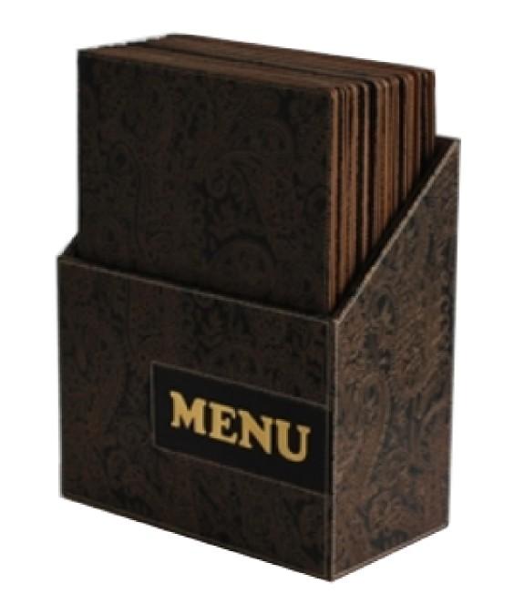 Tomgast, Úložný box na menu karty