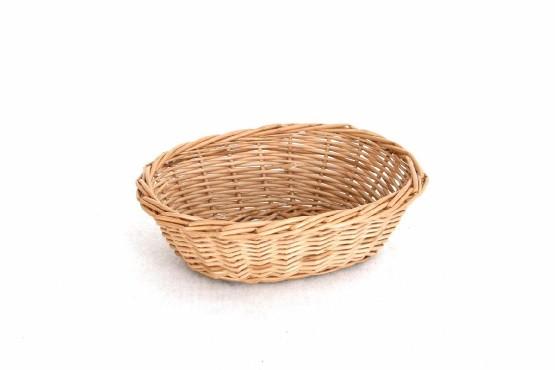 Tomgast, Košík na pečivo proutěný oválný 20x28x6cm