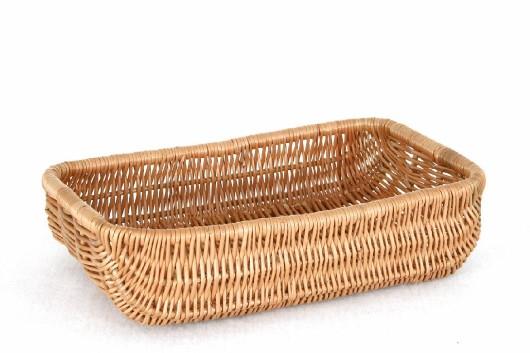 Proutěný košík na pečivo