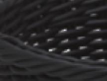 Košík na příbory - černý