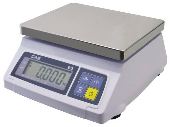 Kuchyňská váha stolní 10/20 kg